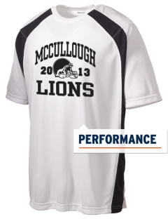 McCullough Elementary School Lions Men's Dry Zone Colorblock T-Shirt