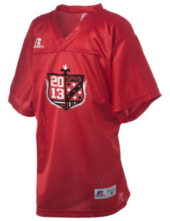 South Portland High School Red Riots Russell Kid's Replica Football Jersey