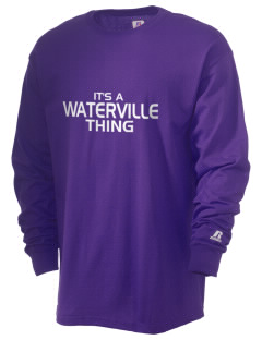 Waterville Junior High School Pumas  Russell Men's Long Sleeve T-Shirt