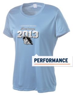 C Milton Wright High School Mustangs Women's Competitor Performance T-Shirt