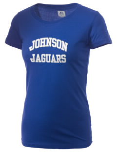 Johnson Elementary School Jaguars  Russell Women's Campus T-Shirt