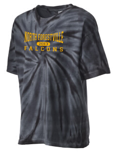 North Forestville Elementary School Falcons Kid's Tie-Dye T-Shirt
