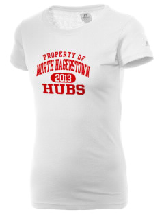 North Hagerstown High School Hubs  Russell Women's Campus T-Shirt