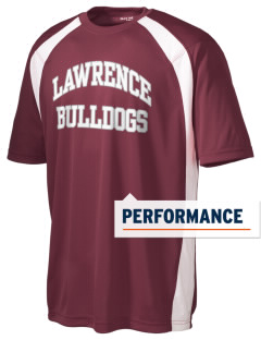 Lawrence School Bulldogs Men's Dry Zone Colorblock T-Shirt
