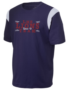 Ludlow Senior High School Lions Holloway Men's Rush T-Shirt