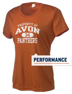 Avon Middle High School Panthers Women's Competitor Performance T-Shirt