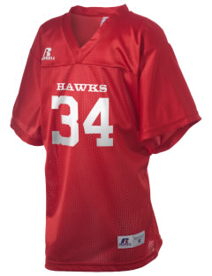 Milford High School Hawks Russell Kid's Replica Football Jersey