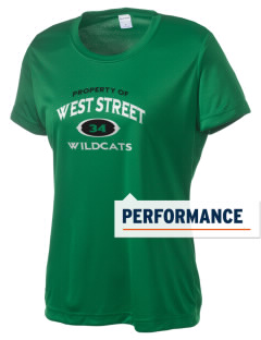 West Street Elementary School Wildcats Women's Competitor Performance T-Shirt