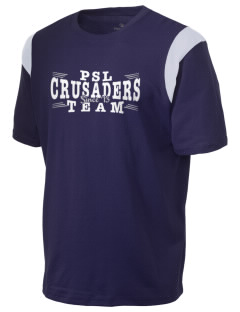 Peridot-Our Savior's Lutheran School Crusaders Holloway Men's Rush T-Shirt