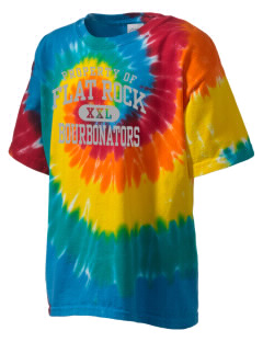 Flat Rock Technical School Bourbonators Kid's Tie-Dye T-Shirt