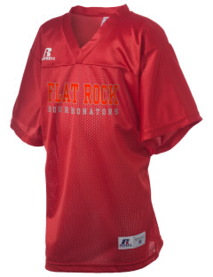 Flat Rock Technical School Bourbonators Russell Kid's Replica Football Jersey