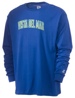 Vista del Mar School Makos  Russell Men's Long Sleeve T-Shirt
