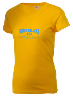 Vista del Mar School Makos  Russell Women's Campus T-Shirt