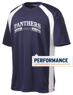 Parker Elementary School Panthers Men's Dry Zone Colorblock T-Shirt