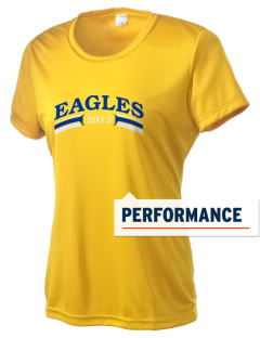Butte Central Catholic Jr High School Eagles Women's Competitor Performance T-Shirt