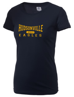 Hudsonville High School Eagles  Russell Women's Campus T-Shirt