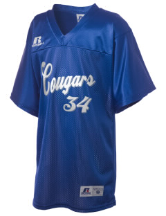 Calvary Christian Academy Cougars Russell Kid's Replica Football Jersey