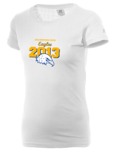Eagle Montessori Center Eagles  Russell Women's Campus T-Shirt