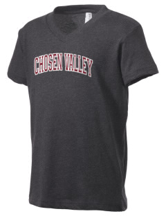 Chosen Valley Secondary School Gophers Kid's V-Neck Jersey T-Shirt