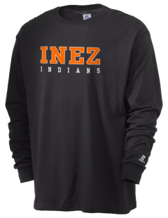 Inez Elementary School Indians  Russell Men's Long Sleeve T-Shirt