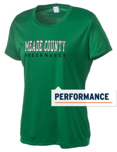 Meade County High School Greenwaves Women's Competitor Performance T-Shirt