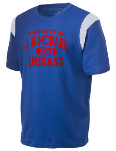 J B McNabb Middle School Indians Holloway Men's Rush T-Shirt