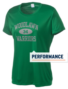 Woodlawn Middle School Warriors Women's Competitor Performance T-Shirt