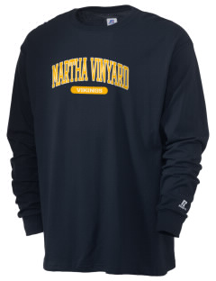 Martha Vinyard Elementary School Vikings  Russell Men's Long Sleeve T-Shirt