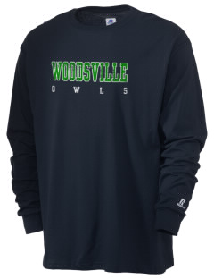 Woodsville Elementary School Owls  Russell Men's Long Sleeve T-Shirt