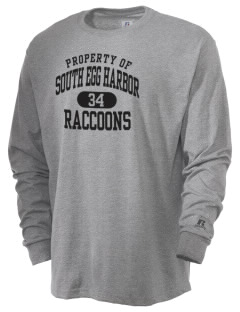 South Egg Harbor Elementary School Raccoons  Russell Men's Long Sleeve T-Shirt
