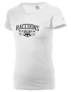 South Egg Harbor Elementary School Raccoons  Russell Women's Campus T-Shirt