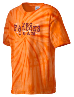 Ventnor Educational Community Complex Falcons Kid's Tie-Dye T-Shirt