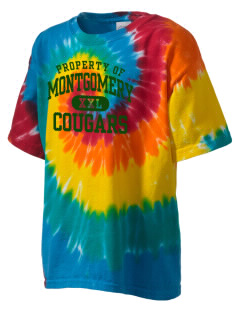 Montgomery Middle School Cougars Kid's Tie-Dye T-Shirt