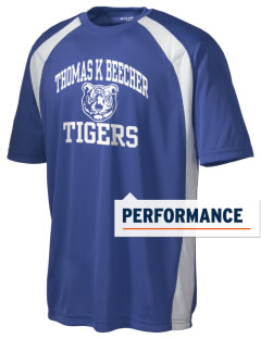 Thomas K Beecher Elementary School Tigers Men's Dry Zone Colorblock T-Shirt