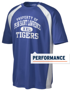 PS 86 Saint Lawrence School Tigers Men's Dry Zone Colorblock T-Shirt