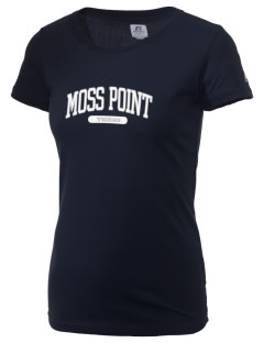 Moss Point High School Tigers  Russell Women's Campus T-Shirt