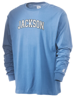 Jackson Elementary School Jaguars  Russell Men's Long Sleeve T-Shirt