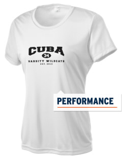 Cuba Middle School Wildcats Women's Competitor Performance T-Shirt