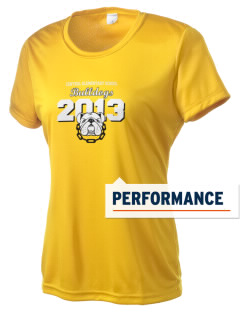 Central Elementary School Bulldogs Women's Competitor Performance T-Shirt