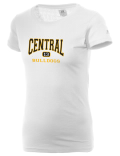 Central Elementary School Bulldogs  Russell Women's Campus T-Shirt
