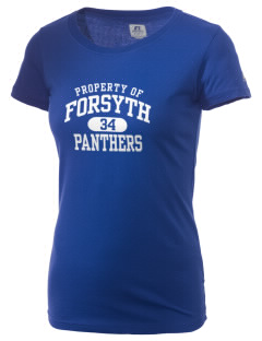 Forsyth Middle School Panthers  Russell Women's Campus T-Shirt