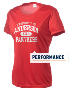 Anderson Elementary School Panthers Women's Competitor Performance T-Shirt