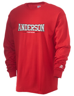 Anderson Elementary School Panthers  Russell Men's Long Sleeve T-Shirt