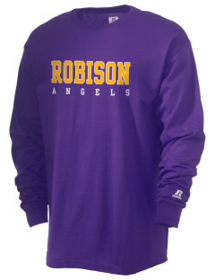 Robison Middle School Angels  Russell Men's Long Sleeve T-Shirt