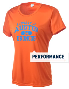 Austin High School Broncos Women's Competitor Performance T-Shirt