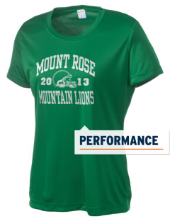 Mount Rose Elementary School Mountain Lions Women's Competitor Performance T-Shirt