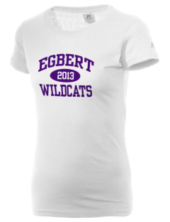 Egbert Wildcats  Russell Women's Campus T-Shirt