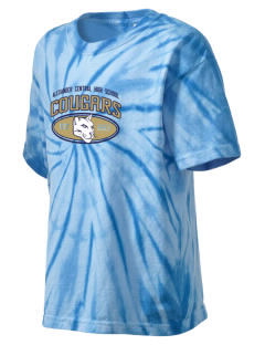 Alexander Central High School Cougars Kid's Tie-Dye T-Shirt