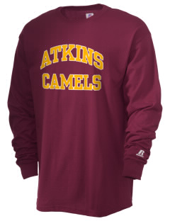 Atkins Middle School Camels  Russell Men's Long Sleeve T-Shirt