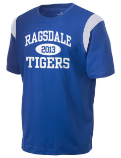 Ragsdale High School Tigers Holloway Men's Rush T-Shirt